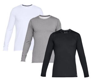 Under Armour UA ColdGear Armour Long Sleeve Fitted Crew Top - Pick Color & Size