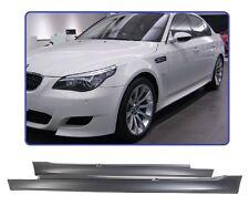 2 BAS DE CAISSE PACK M / M5 EN ABS BMW SERIE 5 E60 ET E61 DE 2003 A 2010