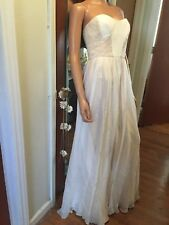 NEW ABS Allen B. SCHWARTZ Bridal    Collection evening Wedding dress  Size 4