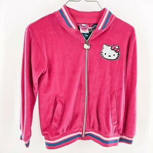 Hello Kitty Girls Zip Up Jacket Size 10