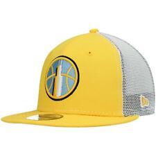 Chicago Sky New Era 2020 WBNA Draft Trucker 9FIFTY Snapback Hat - Yellow/White