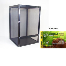 Deluxe Stick Insect Mesh Cage Enclosure Black