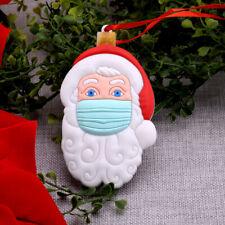 Papá Noel Colgante de árbol Navidad Ornements Xmas Decoración de fiesta en casa