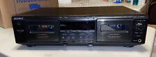 Sony Tc-We605S Dual Auto-Reverse Stereo Cassette Deck