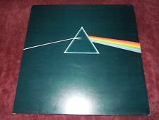 Pink Floyd Dark Side Of The Moon 1973 UK Harvest Solid Blue Prism A-2 B-2 EX+