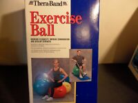 Thera-Band Exercise Ball 55 Cm  Red