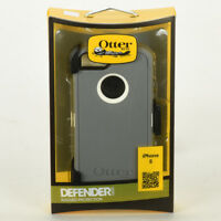 OtterBox Defender Series Case for iPhone 5 w/Holster Belt Clip (White/Gray) NEW