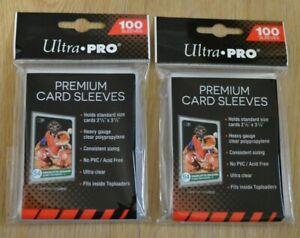 Ultra Pro Premium Card Sleeves 200 Hüllen clear 66x94mm für Magic MTG Pokemon