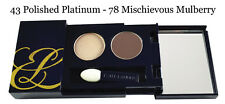 Estee Lauder Pure Color Eye Shadow Duo - Polished Platinum/Mischievious Mulbury