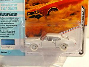 JOHNNY LIGHTNING WHITE LIGHTNING 1A MUSCLE CARS 1968 OLDS CUTLASS W31 RAM ROD