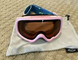 Smith Optic Sidekick Youth Girls Fit Small Ski Snowboard Goggles Pink Flowers