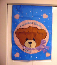 Cherished Teddies Club Garden Flag by Enesco