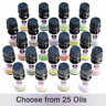 Essential Oils 100% Pure Natural Aromatherapy oils Choose fragrance aroma 10ml
