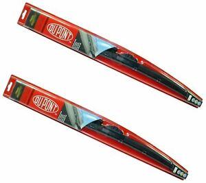 "Genuine DUPONT Hybrid Wiper Blades Set 24"" + 28"" For Toyota Avensis Picnic Yaris"