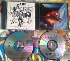 ZZ Top 2 CD's - Afterburner And Antenna CD Albums - Blues, Hard, Boogie Rock,