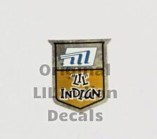 Vintage Minibike LIL Indian Fork Neck Decal Mini Bike