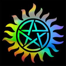 Supernatural Anti-Possession Pentagram Car Window Bumper Sticker Vinyl Decal