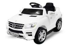 Lizenz Elektro Kinderauto Mercedes ML350  6V Motor RC Elektroauto Kinder Weiss