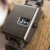 BOBO BIRD WOODEN WATCH MENS OFFICIAL DIGITAL DESIGNER SMART LED ERKEK KOL SAATI