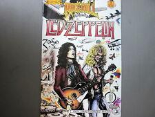 Led Zepellin comic Rock n Roll Comics 1990 First Printing !