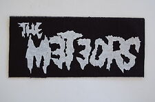"""Meteors Cloth Patch Sew On Badge Psychobilly Rockabilly Approx 4""""X4"""" (CP241)"""