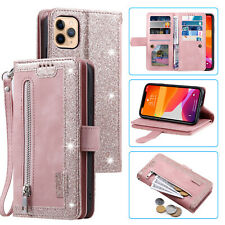 Retro Wallet PU Leather Case Cover For iPhone 12 Mini Pro Max Samsung S20+Note20