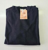 PULL TAILLE XL SWEATER DONNA 100% PUR CASHMERE CACHEMIRE PURE EVERLANE BLEU