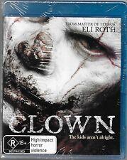 Clown (Blu-ray, 2015)New (An Eli Roth Production) Region B Free Post