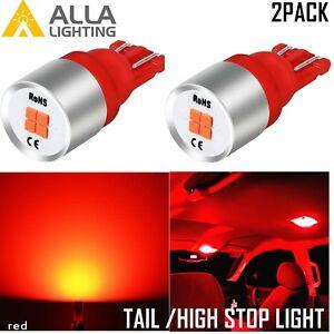 AllaLighting LED Tail Light Bulb Center High Mount Stop 3rd Upper Brake Lamp Red