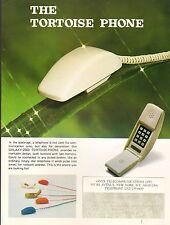 VINTAGE AD SHEET #2121 - ONYX GALAXY-2003 TORTOISE PHONE