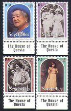Seychelles 2000 Royalty/Queen Mother/100th Birthday/Royal 4v set (n33225)