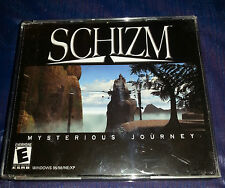 SCHIZM MYSTERIOUS JOURNEY  5 DISC PC 2001    FREE SHIPPING