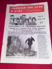 Liverpool Fanzine - Through the Wind & Rain - Spring 1985 #25