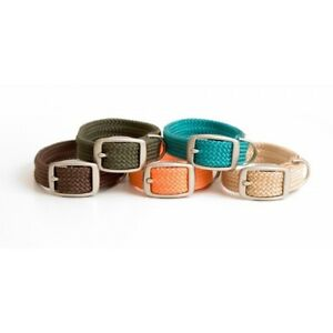 "Double Braid Dog Collar - ""Twist Series"""