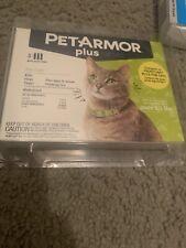 PetArmor Plus for Cats Flea Tick Lice Treatment 3 Applications