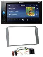 Pioneer 2DIN MP3 USB AUX Autoradio für Alfa Romeo 147 GT 00-10 silber