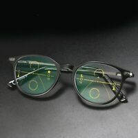 Mens Classic Multifocal Progressive Reading Glasses Business Readers +1.0~3.0