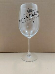 Moet and Chandon Advertising Pack Of 6 Champagne Glasses