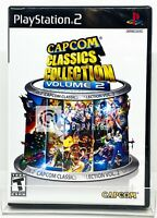 Capcom Classics Collection Vol. 2 - PS2 - Brand New | Factory Sealed