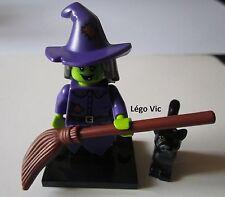 Légo 71010 Minifig Figurine Série 14 Witch Sorcière + socle
