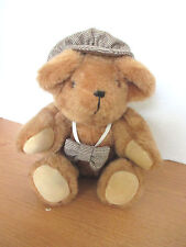 """Nancy Sutherland Holmes Signature Collection 12"""" Plush Jointed Teddy Bear"""