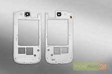 Samsung GALAXY S3 i9300 Mittel Rahmen Gehäuse Housing Weiss