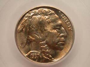 US 1937-S Buffalo Nickel PCGS MS64
