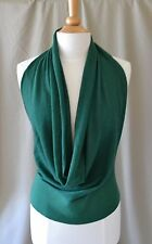 Dries van Noten Green Halter Sweater Size Medium