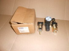 Coilhose Pneumatics MFRL2-G Miniature Series Filter Regulator and Lubricator NEW