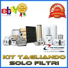 KIT TAGLIANDO SOLO FILTRI CHEVROLET CAPTIVA 2.0D 2.0D 4WD  DAL 10.2006 IN POI