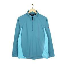 Berghaus Womens Half Zip Blue Micro Fleece Pullover Hiking Jumper - Size UK 14