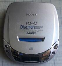 Sony Discman ESP2 Groove D-F411 Portable AM/FM Radio CD Player SteadySound
