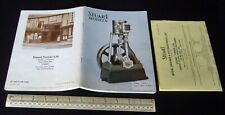 1983 Vintage Stuart Turner Model Steam Engine Catalogue + Price List