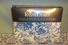 RALPH LAUREN ORLEON FULL SIZE FITTED SHEET NEW IN PACKAGE